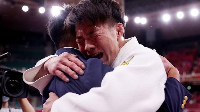 Abe hifume judoca japones chora