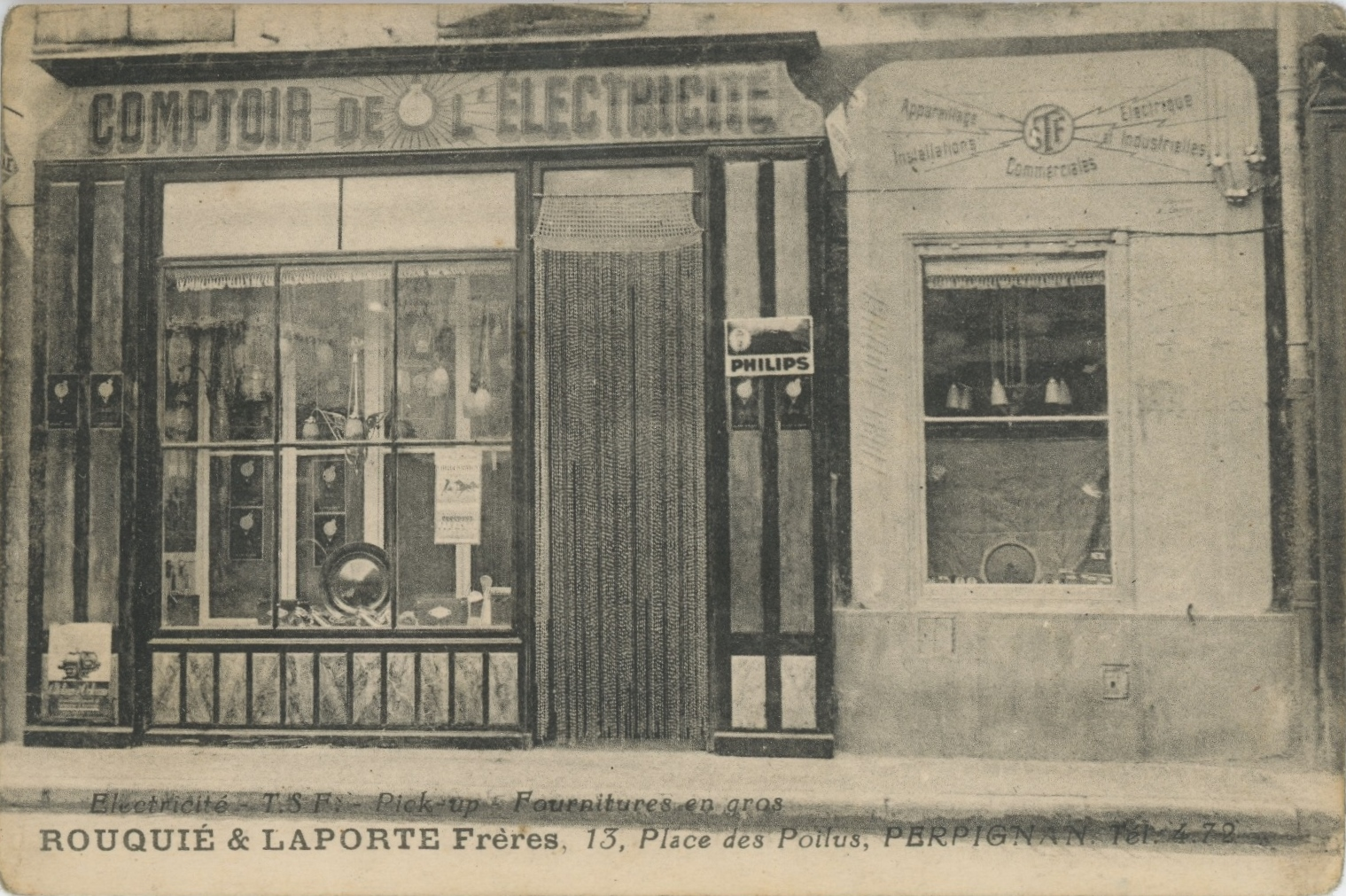 Commerces immarcescibles comptoir de l 39 lectricit perpignan - Comptoir de l electricite ...
