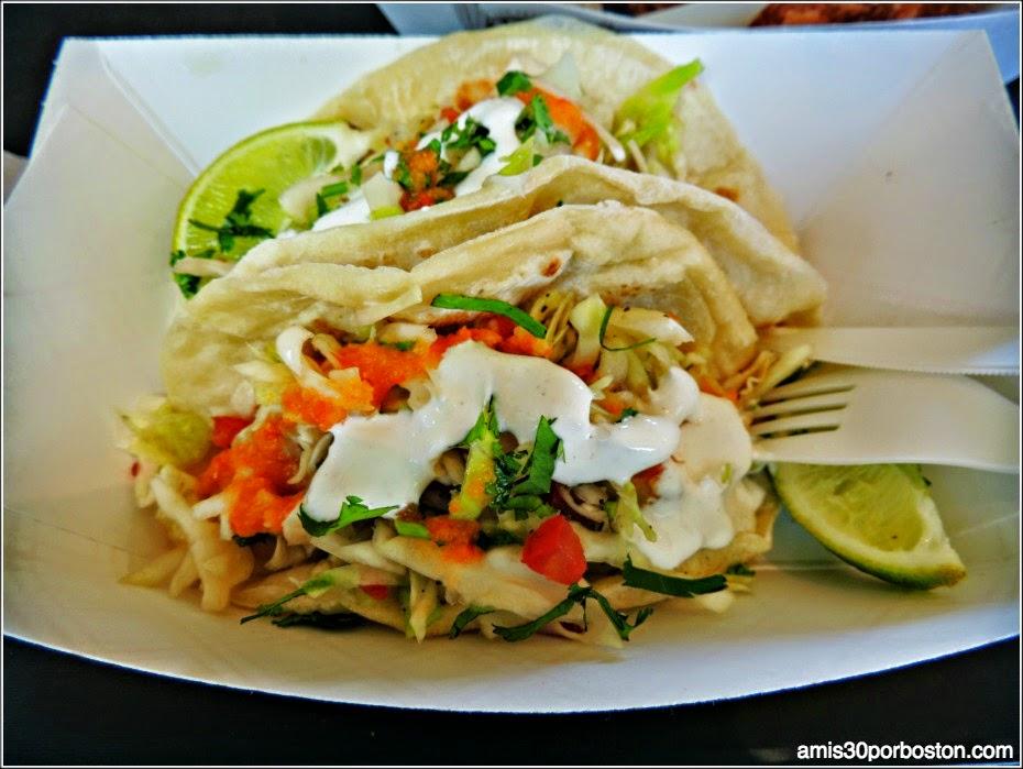 Boudin Bakery: Fish Tacos