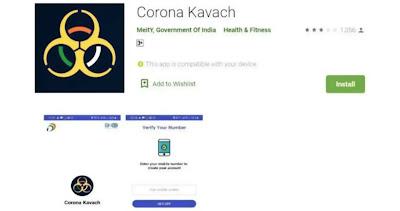 भारत सरकार ने भी लॉन्च किया कोरोना वायरस पहचान के लिए Kavach App
