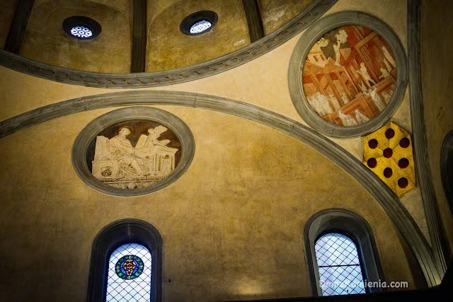 San Lorenzo Sagrestia Vecchia Donatello, Brunelleschi