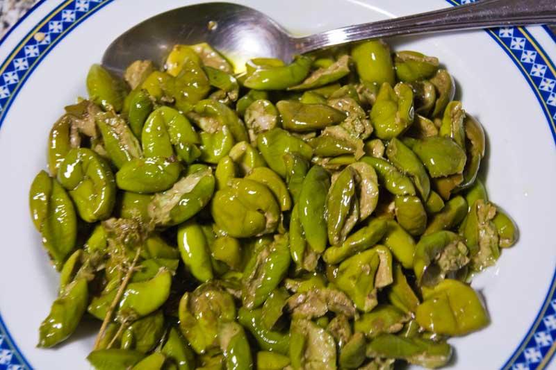 Olive schiacciate alla calabrese - Ricette che Passione