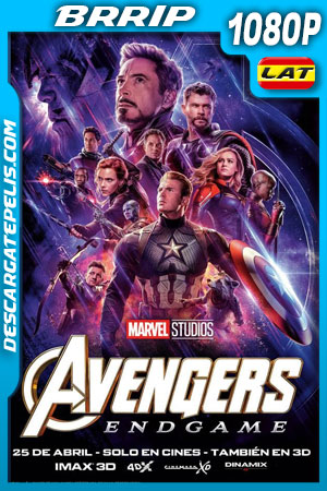 Avengers Endgame (2019) 1080p BRrip Latino – Ingles
