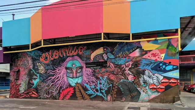 Panama City Layover: Street Art in El Chorrillo