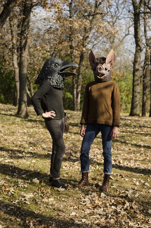 My Owl Barn Liz Sexton Creates Papier M 226 Ch 233 Masks Of