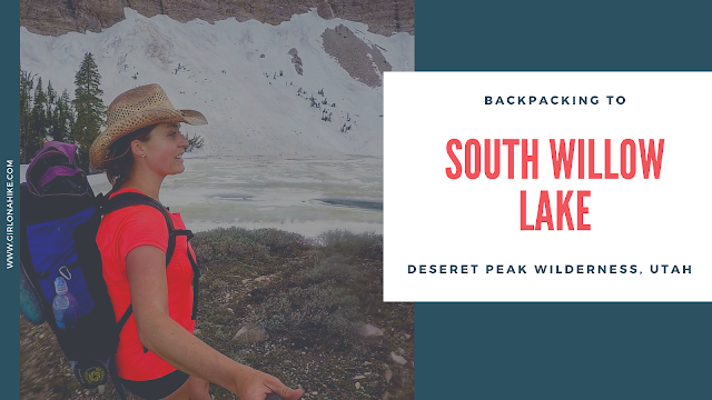 Backpacking to South Willow Lake