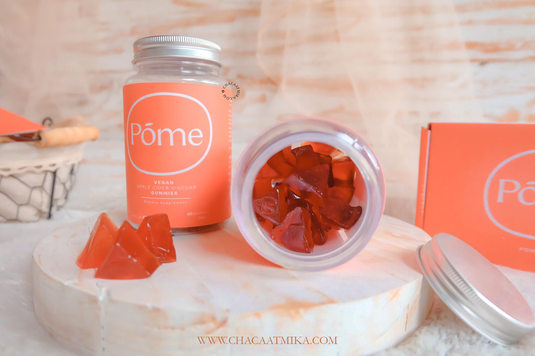 Fungsi Pome Gummy Cuka Apel Pertama di Indonesia