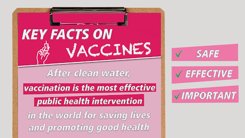 Vaccines save lives every day Uk gov image we aren't scared of Polio any more