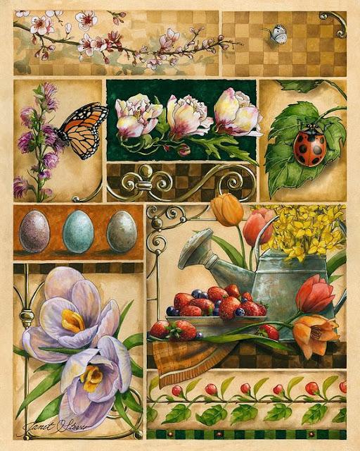 Spring Montage - Janet Stever