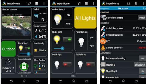 imperihome – smart home & smart city management app paid