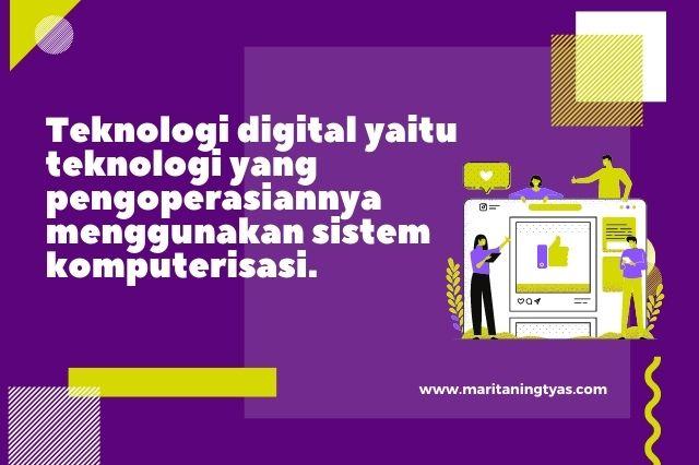 pengertian dan jenis teknologi digital