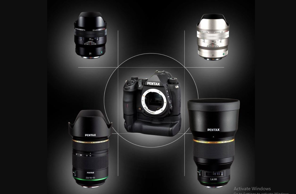 Ricoh talked about the development of an APS-C format camera and three lenses