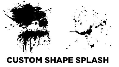 Custom Shape Splash