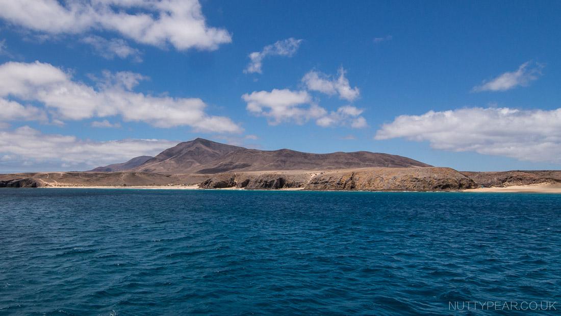 Coastline of Lanzarote