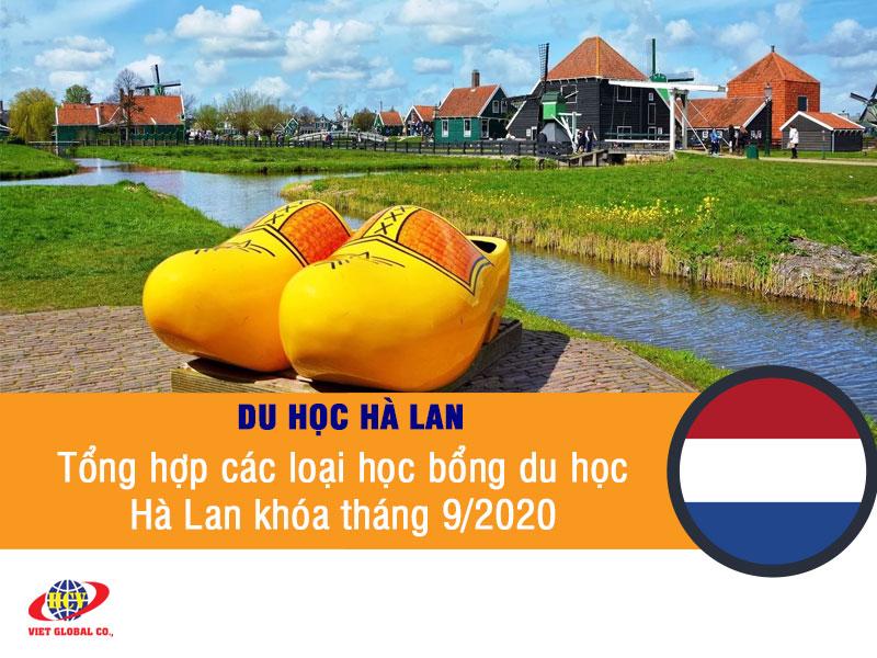 Du học Hà Lan: Tổng hợp học bổng du học Hà Lan khóa tháng 9/2020