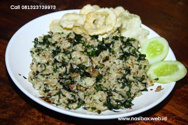 Resep nasi goreng daun mengkudu nasi box kawah putih ciwidey