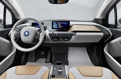 Interior del BMW i3, noticias del motor