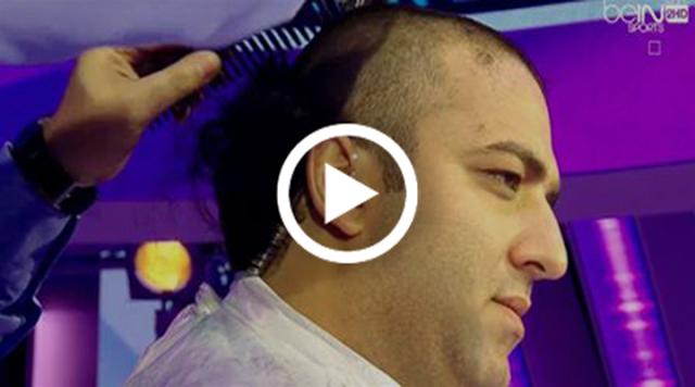 VIDÉO : Mido coupe ses cheveux en directe sur les plateaux de Beinsport.