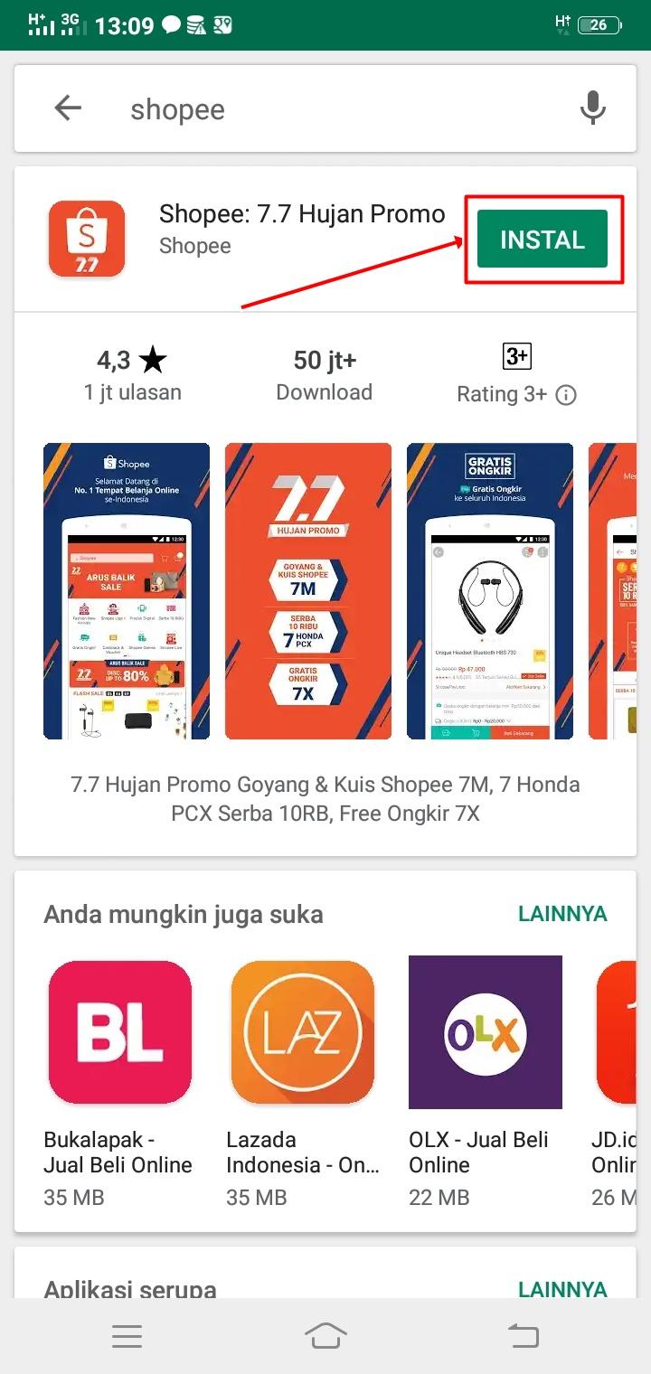 Cara Menggunakan Aplikasi Shopee Besok Sukses