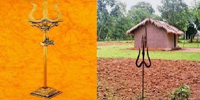 भारत के किसान किस डर की वजह से खेतों में गाड़ रहें हैं त्रिशूल,