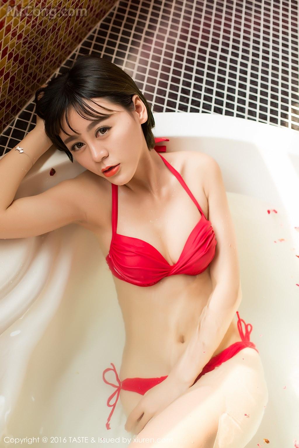 Image MrCong.com-TASTE-Vol.014-Wang-Meng-Meng-012 in post TASTE Vol.014: Người mẫu Wang Meng Meng (汪萌萌) (45 ảnh)