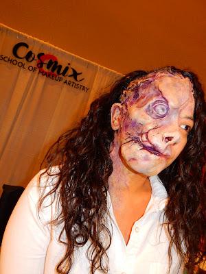The Makeup Show Orlando 2018 Cosmix model - www.modenmakeup.com