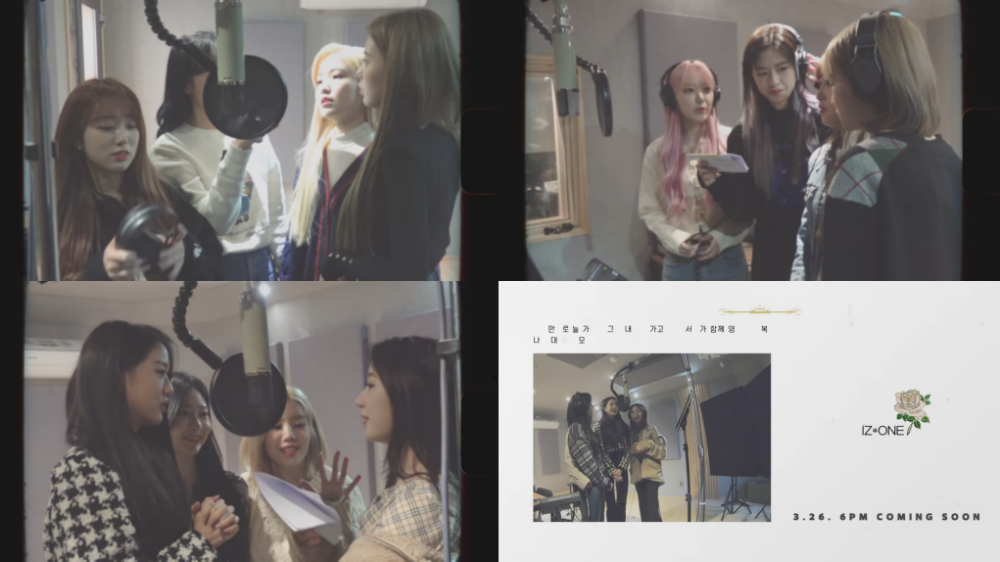 IZONE Releases 90s Style MV for Remake Song '3! 4!'