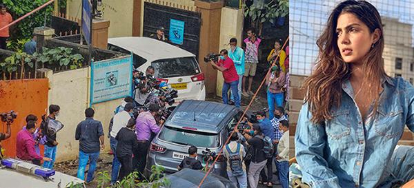 সুশান্ত সিং কান্ডে এবার রিয়ার বাড়িতে অভিযান চালাল  নার্কোটিক্স কন্ট্রোল ব্যুরো (NCB)-এর সদস্যদল