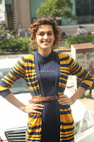 Taapsee Pannu looks super cute at United colors of Benetton standalone store launch at Banjara Hills ~  Exclusive Celebrities Galleries 077.JPG