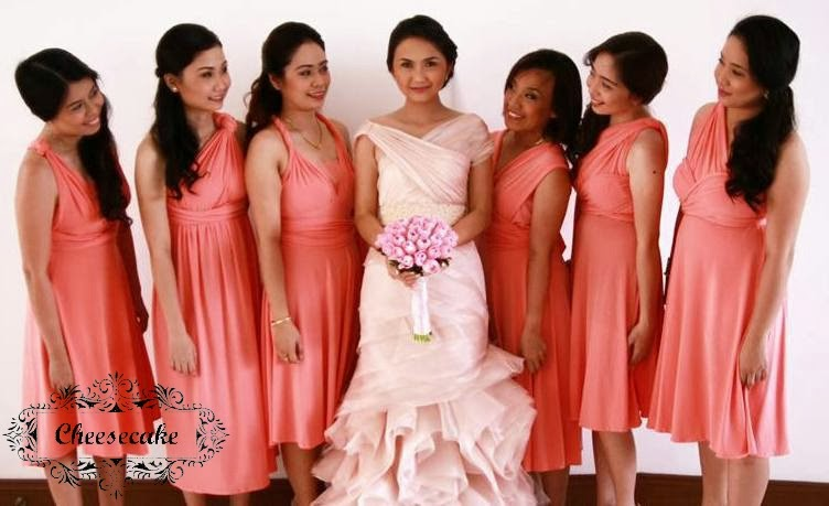 Wedding Planning Adventure: Cheesecake Infinity Dresses - The ...