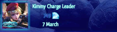Kimmy Charge Leader