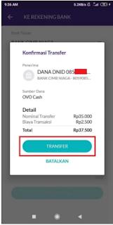 Cara Transfer Ovo ke Dana Tanpa Biaya Admin 2021