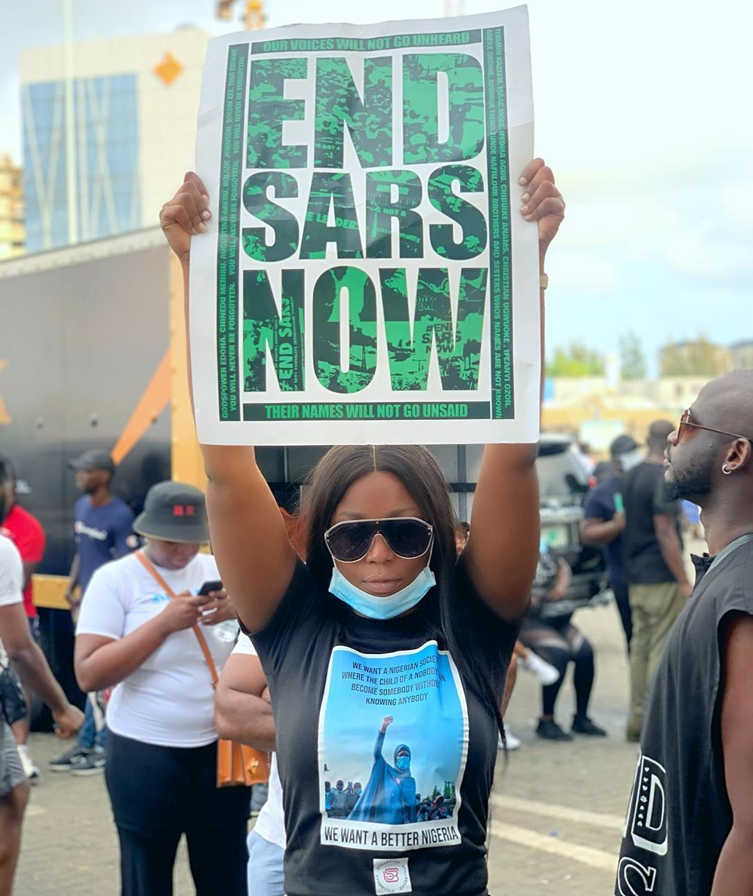 END SARS IN ABUJA