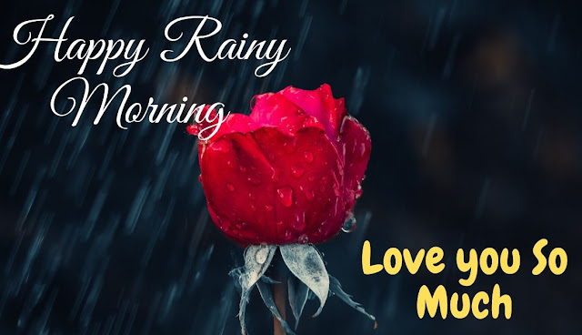 Happy Rainy Morning for love image