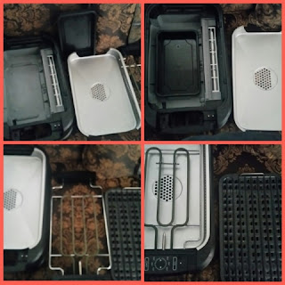 power smokeless grill collage