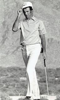 pro golfer George Archer in 1972