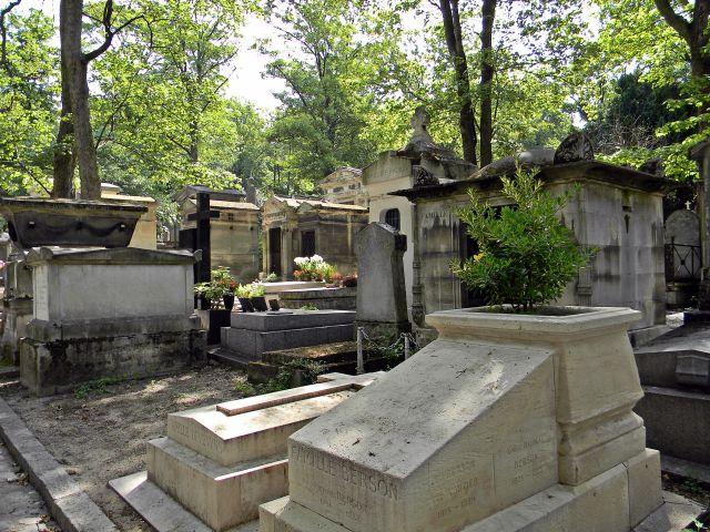 Cmentarz Pere-Lachaise w Paryżu