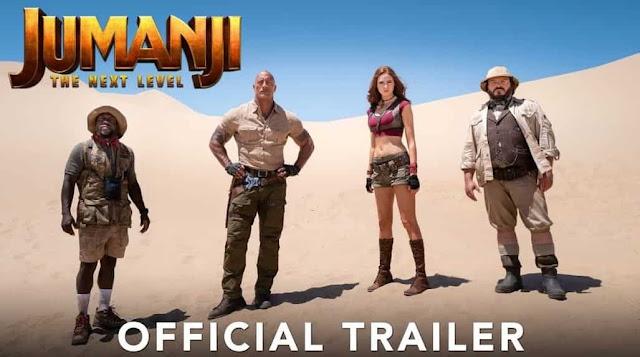 Jumanji The Next Level Trailer