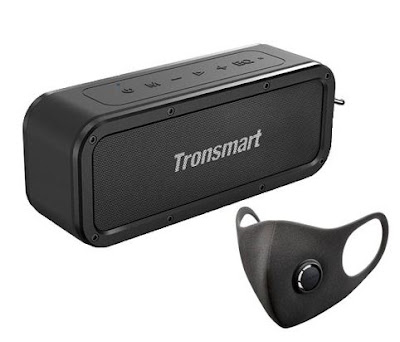 Tronsmart Force SoundPulse - Oferta de mascara - Protegido e com musica de qualidade!