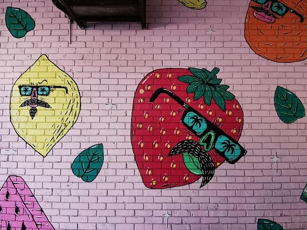 Street Art in Liverpool Sydney
