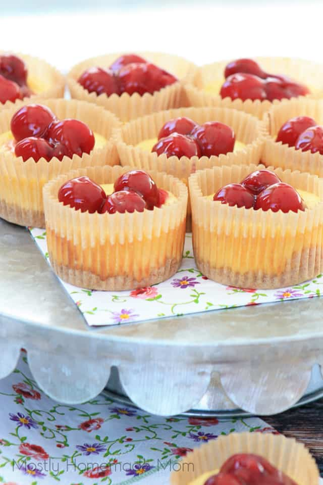 Best Ever Mini Cheesecakes #cupcakes #dessert #minicake #healthy #yummy