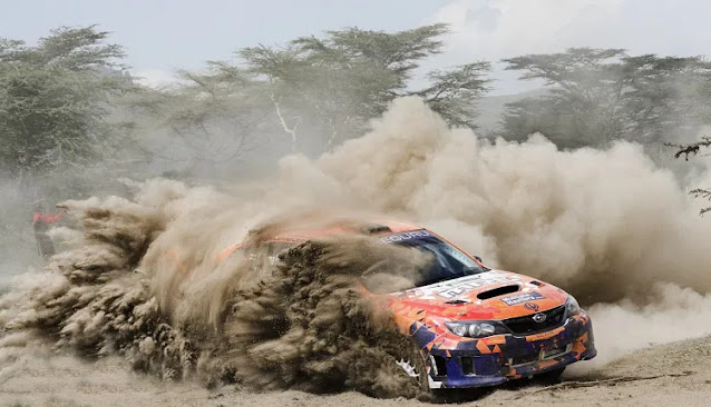 Safari Rally in Dakar