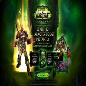 World of Warcraft: Legion Game For PC
