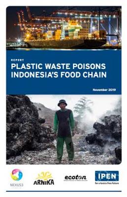 International Pollutants Elimination Network (IPEN) tentang telur ayam kampung mengandung zat berbahaya