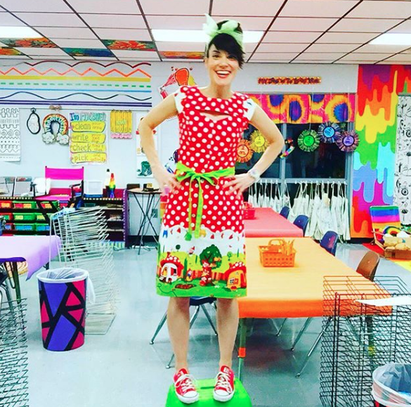 This Past Week Was Our Book Fair And To Celebrate We Had Dress Up Days The Theme Of Enchanted Forrest First Day In