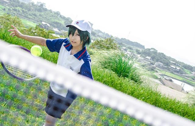Cosplyer - zdjęcie tenisisty