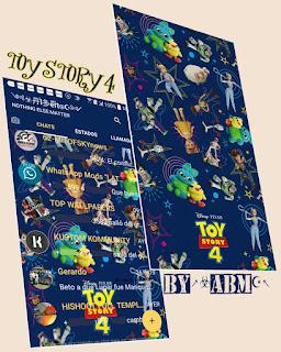 Toy Story 4 Theme For YOWhatsApp & Fouad WhatsApp By ALBERTO