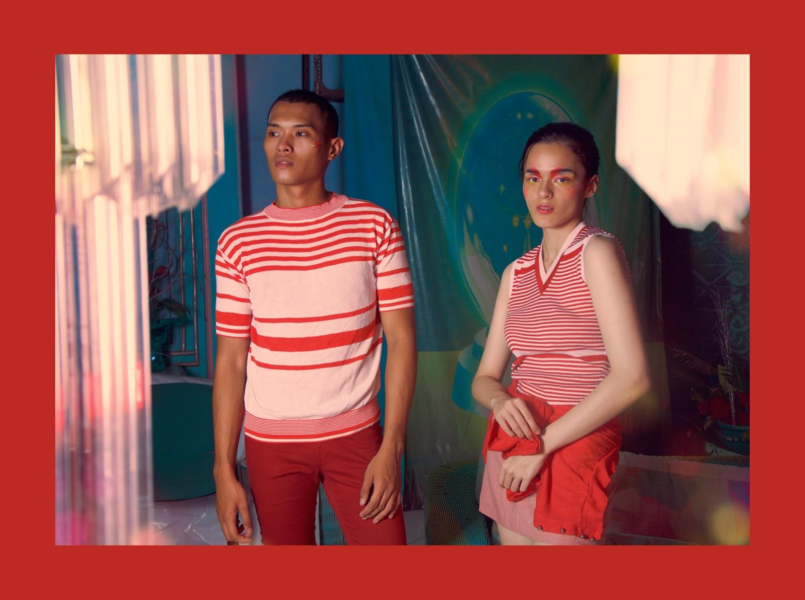 colorful rainbow fashion spread photography magazine haqi cahya haqeeu devona nathan seoul tokyo korean model