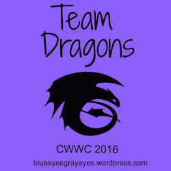 I am on Team Dragon for CWWC 2016