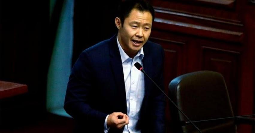 KENJI FUJIMORI: El único fujimorista que votó a favor de la confianza al Gabinete Zavala